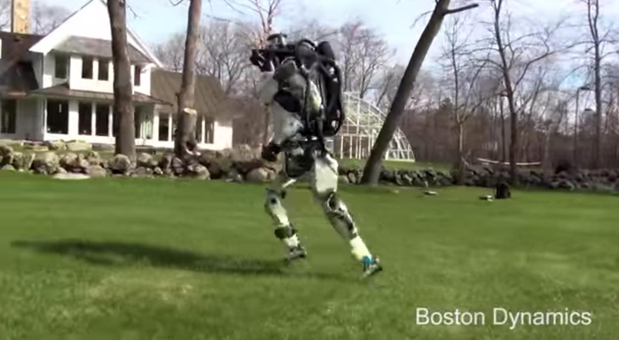 波士顿动力(Boston Dynamics)机器人Atlas能跑能跳